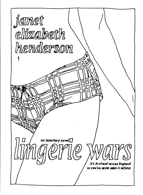 Invertary colouring page Lingerie Wars