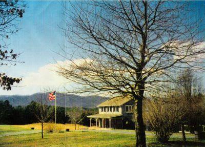 The Virginia farmhouse