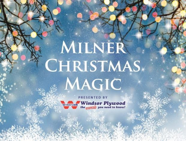 The poster for Milner Christmas Magic 2018