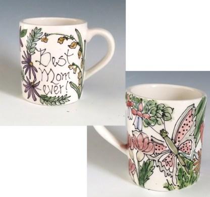 Celebration Pottery Mug Best Mom Ever