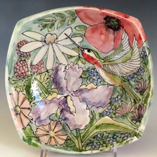 Jan Francoeur Celebration Pottery nature series bowl