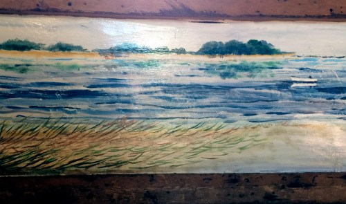 Original painting with a view east to Assateague Island.