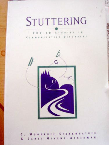 Stuttering - first publication by Janet Givens, author of at Home on the Kazakh Steppe