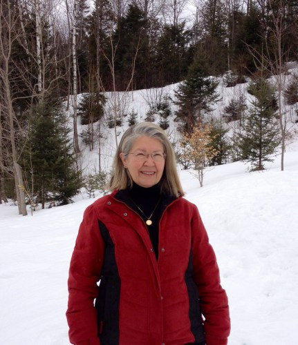 Winter in Vermont, Janet Givens, author of At Home on the Kazakh Steppe