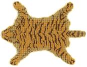 A 'tiger-skin' rug for a doll's house (please note: no animals were harmed in the making of this rug!!)