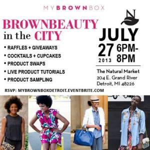 Brown Beauty in the City Event