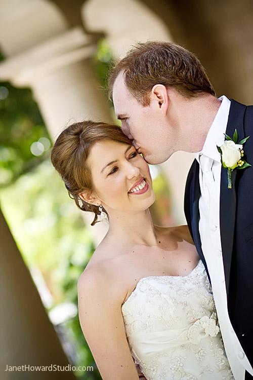 Bride and groom at Wimbish