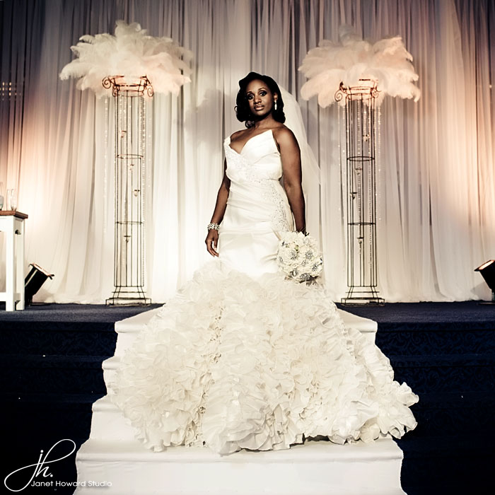Reco Chapple Bridal gown