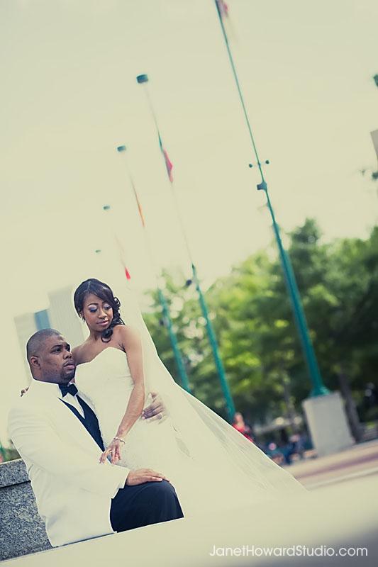 Atlanta Centennial Park Bridal