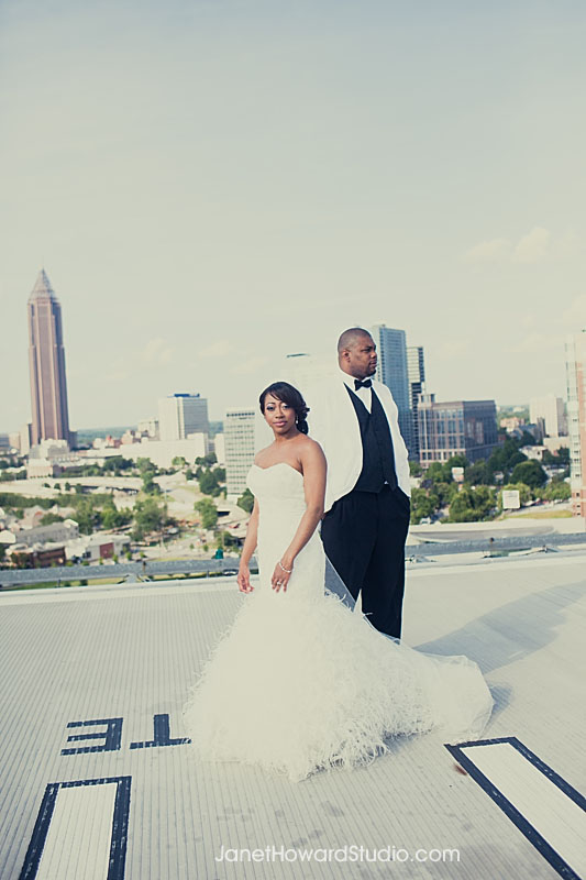 Ventanas Atlanta Helipad Wedding