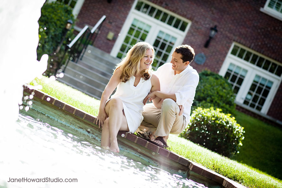 Agnes Scott engagement