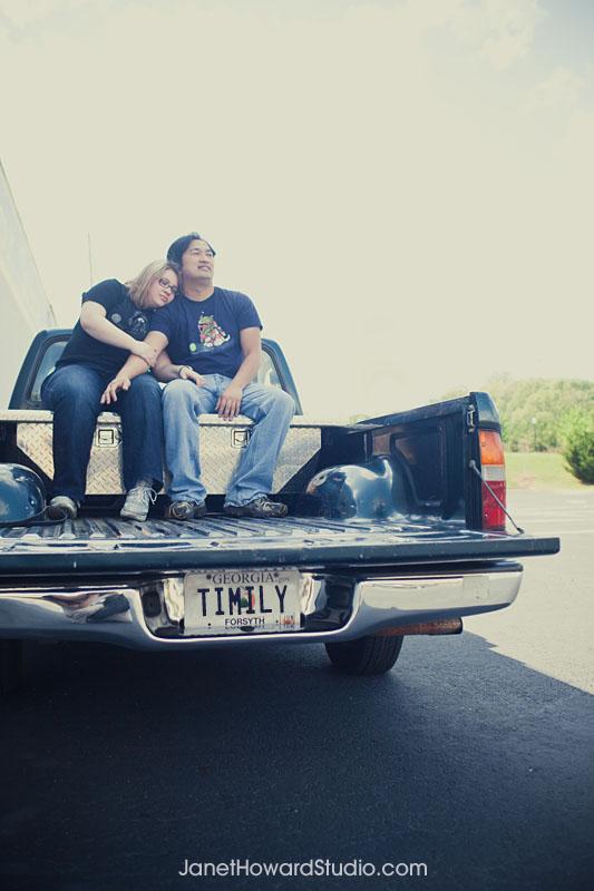 Truck engagement photo