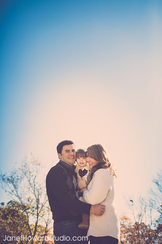 Holiday family portraits by Janet Howard Studio in Old Town Suwanee