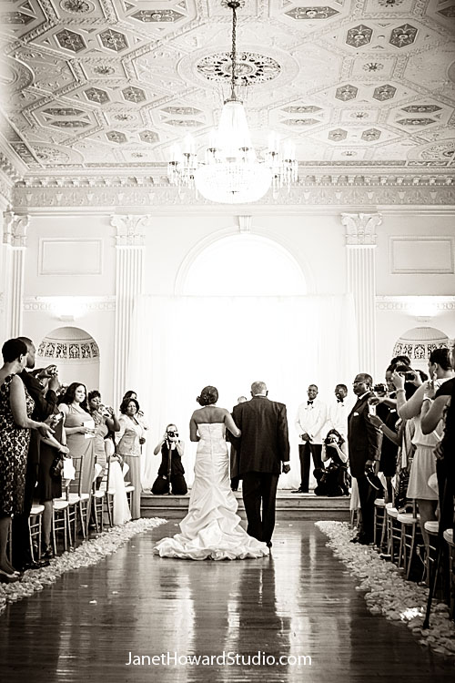 Bride entrance at Atlanta Biltmore