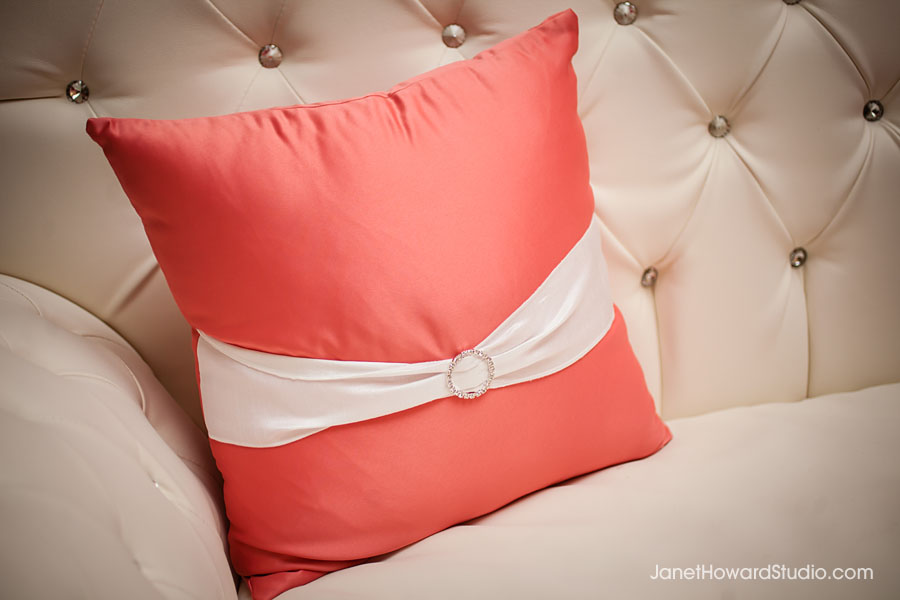Pillow on lounge furniture