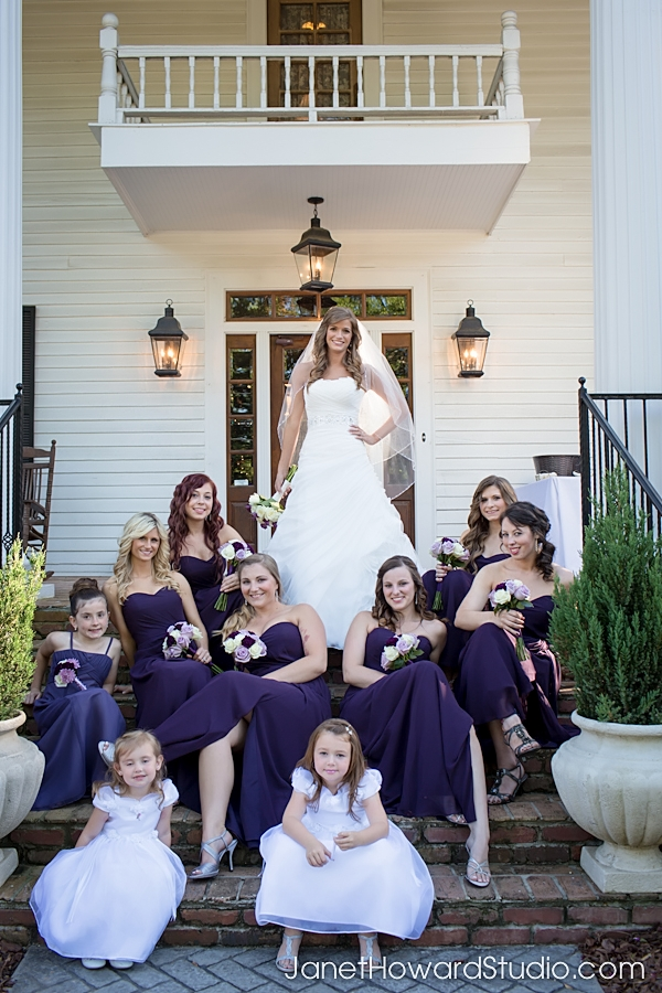 Bridesmaids at The Carl House