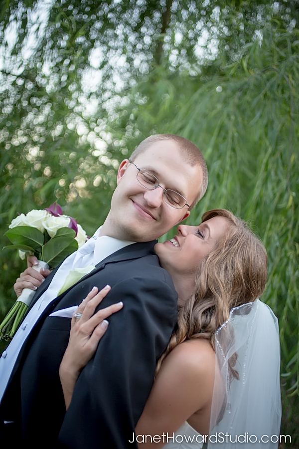 Carl House Bride and Groom