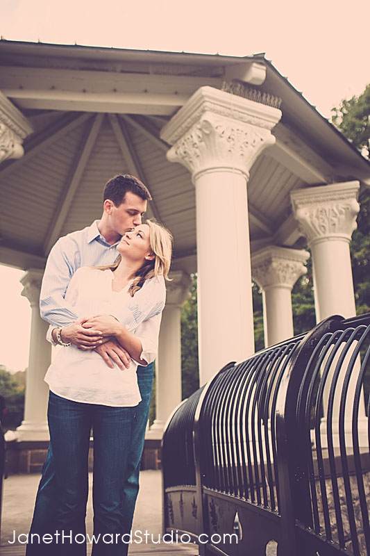 Piedmont Park Gazebo Engagement Session