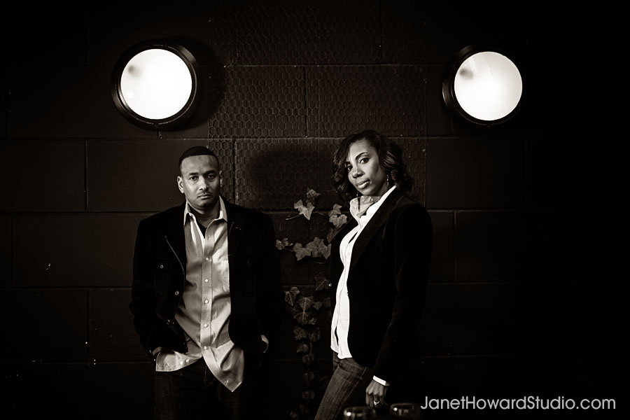 Atlanta Engagement Session at Barcelona Wine Bar