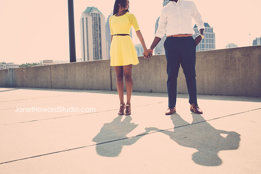Atlanta Engagement Session at MIllenium Gate Park