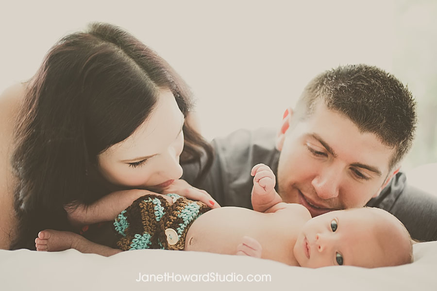 Atlanta Family and Baby Portraits by Janet Howard Studio