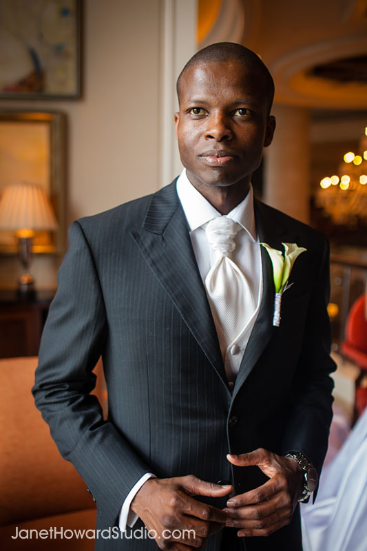 Groom at the St. Regis Atlanta