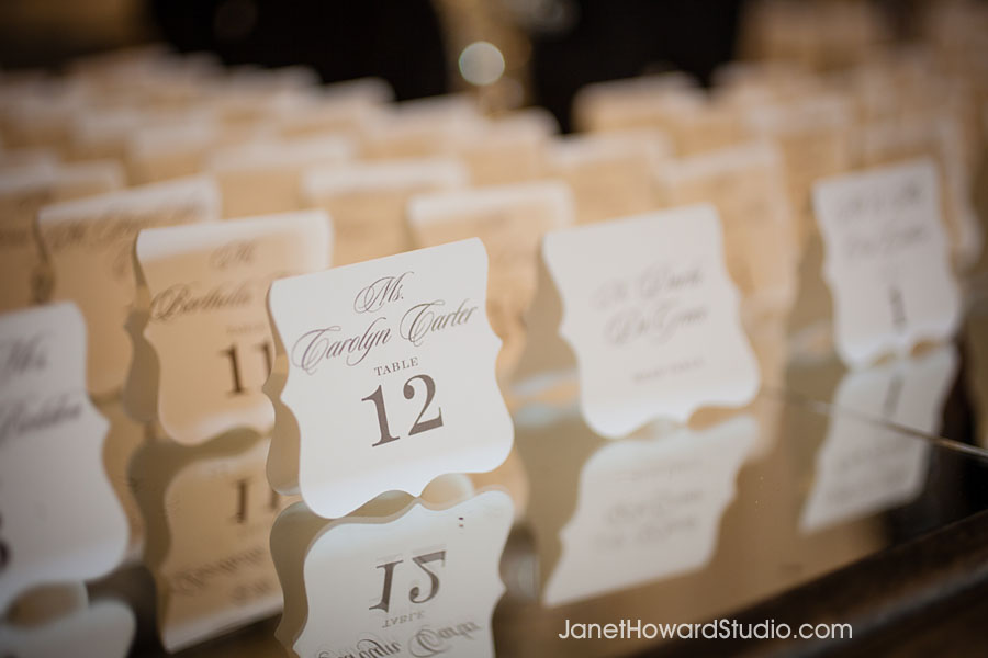 Escort cards by Foglio Press