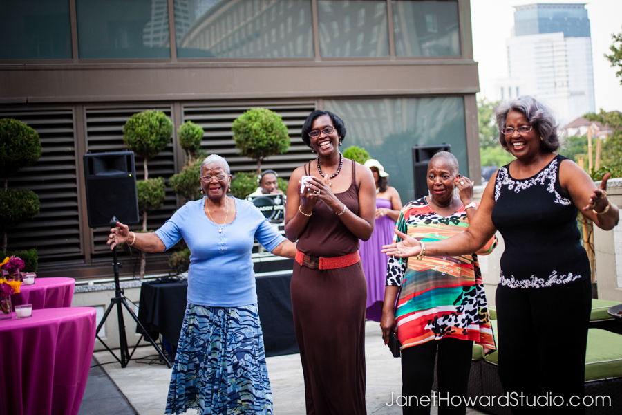Surprise birthday party at Renaissance Atlanta Midtown
