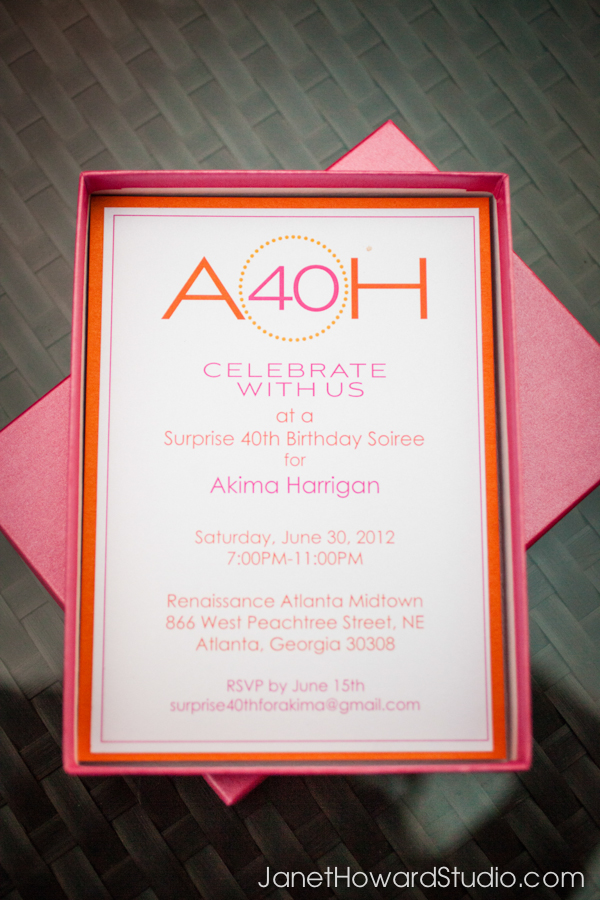 Birthday party invitation by Papered Wonders