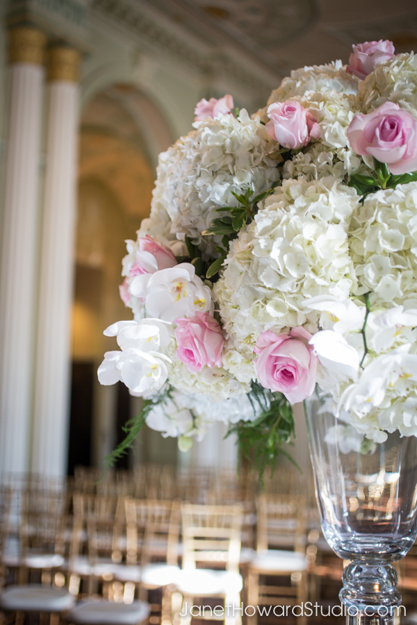 Wedding floral by Edge Design Group