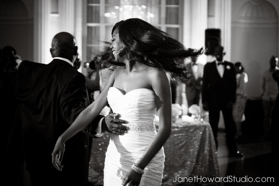 Wedding reception at The Biltmore Atlanta
