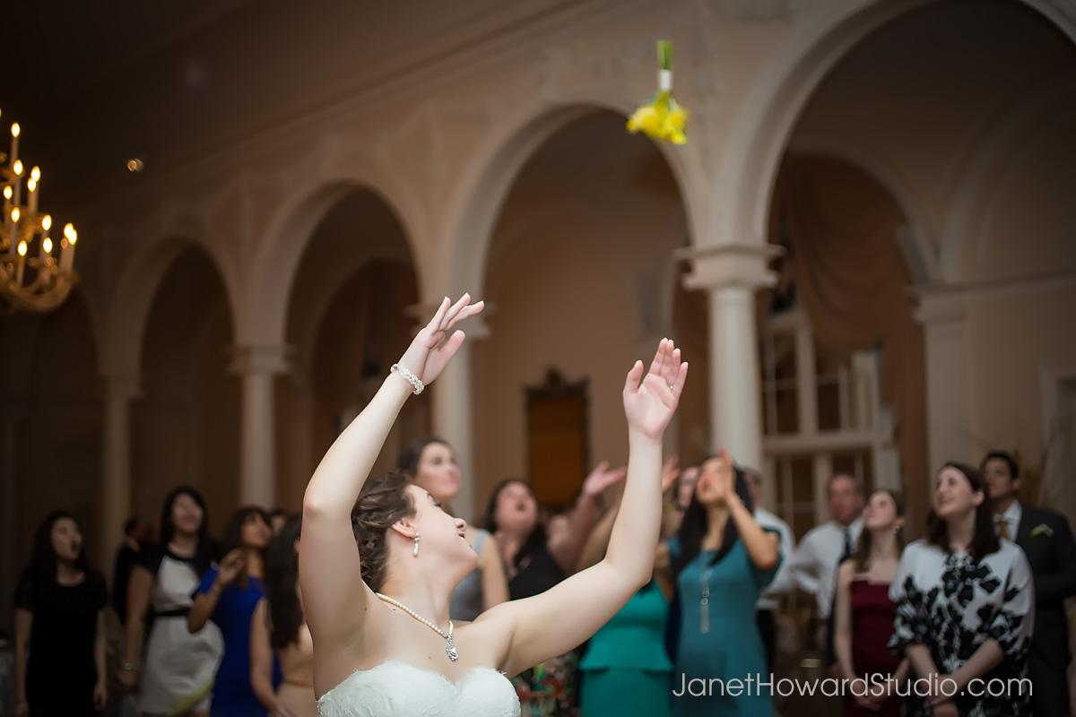 Wedding reception at Piedmont Driving Club