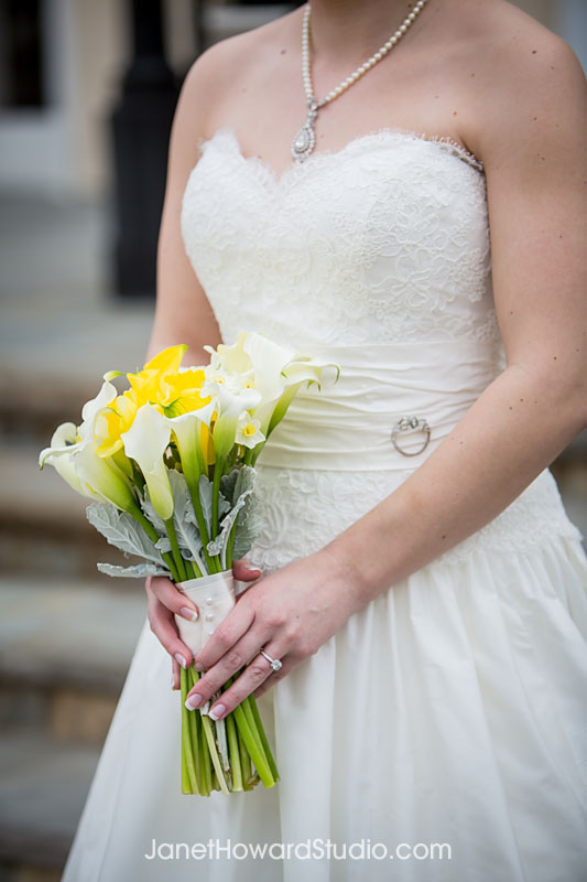 Bride's bouquet by Bloomin' Bouquets