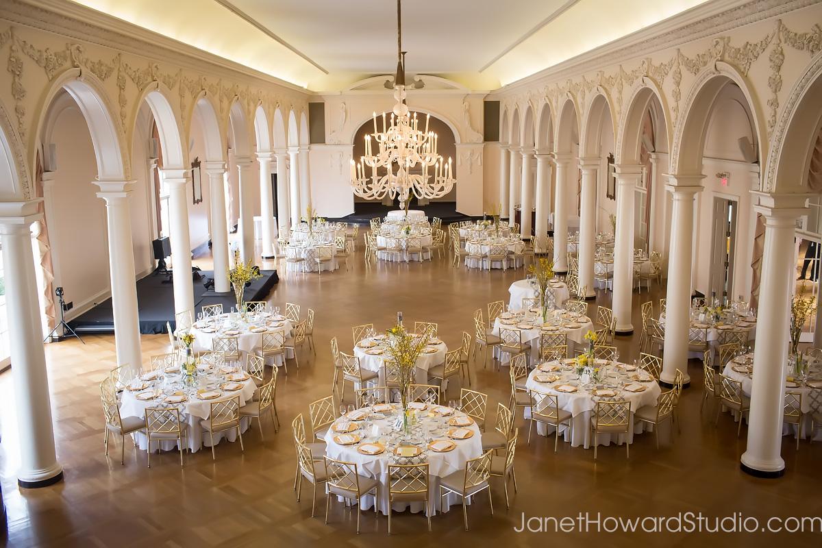 Piedmont Driving Club Wedding Reception