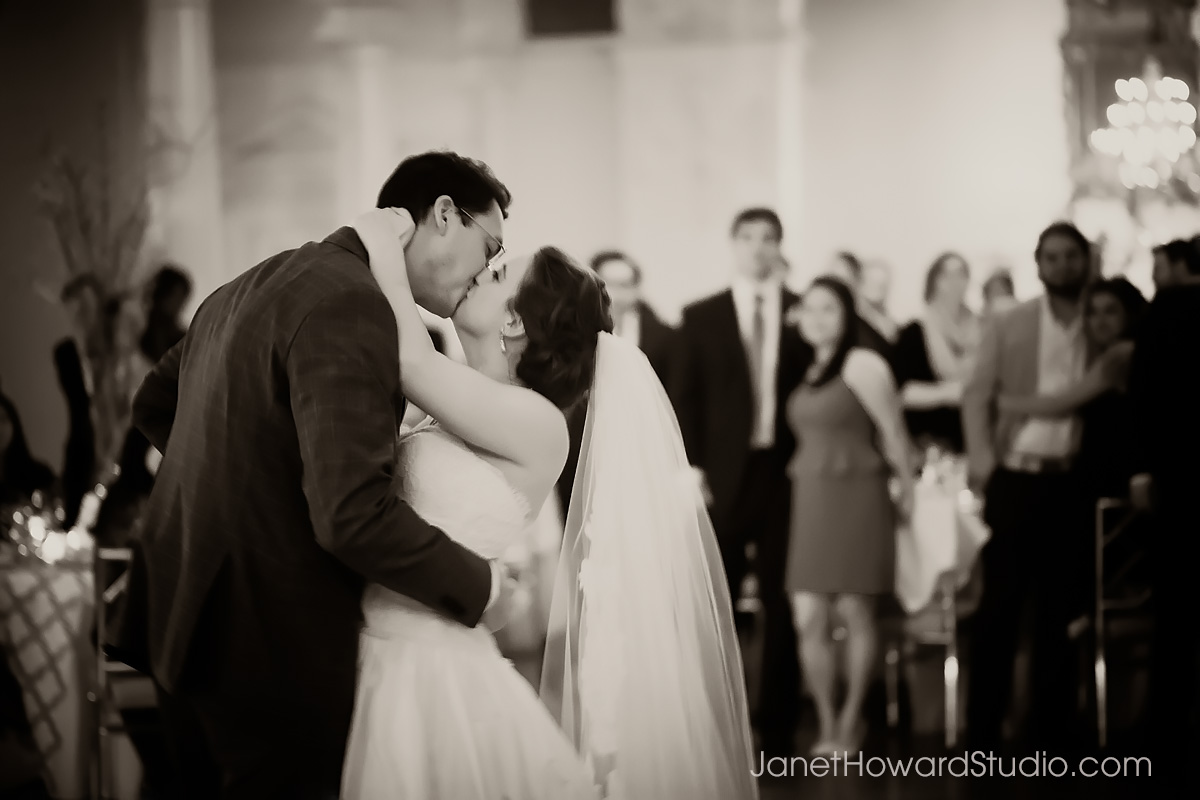 Bride and Groom first dance at Piedmont Driving Club
