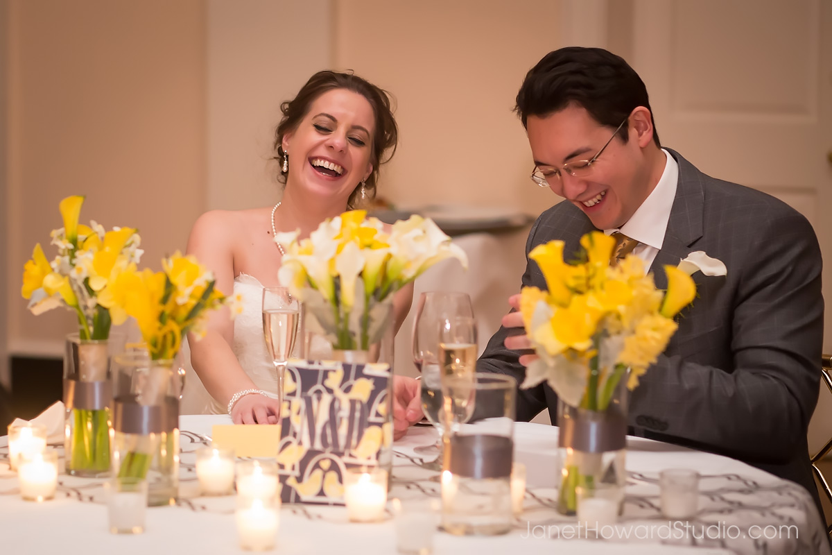 Wedding toasts at Piedmont Driving Club