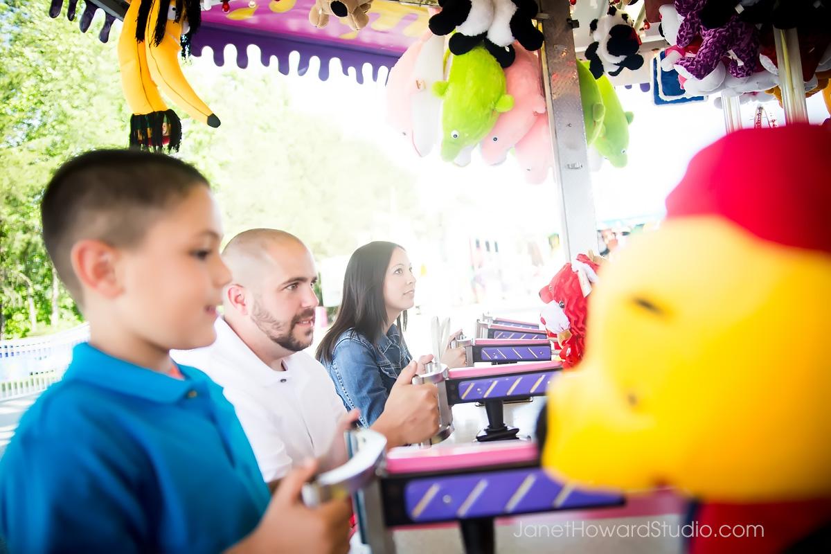 Atlanta Family Portraits at the Fair