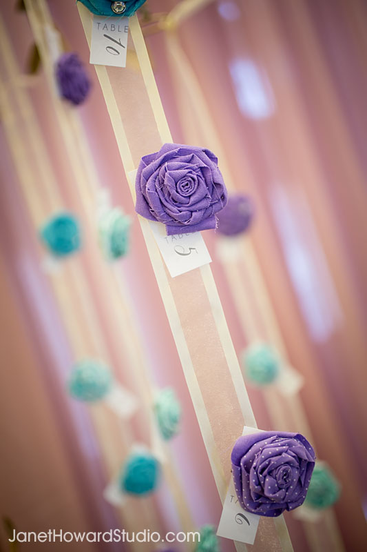fabric corsage table numbers