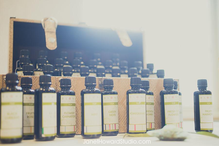 Blend custom perfume