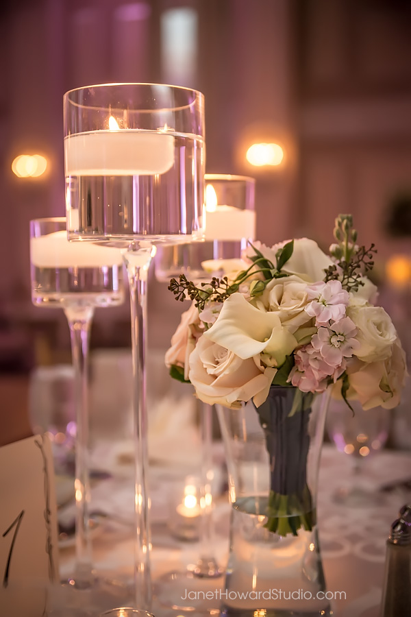 Reception Decor at Georgian Terrace