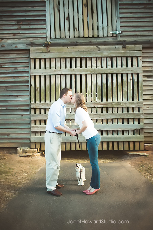 Engagement session at McDaniel Farm Park