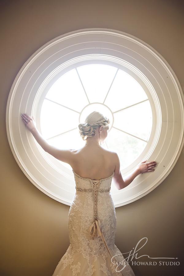 Bride at First Presbyterian Marietta