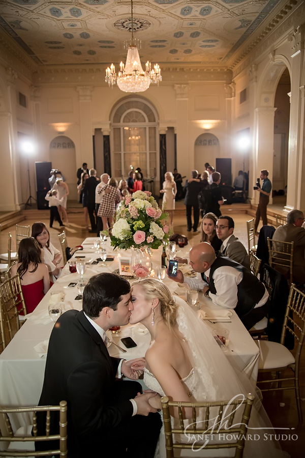 Wedding reception at Biltmore Ballrooms Atlanta