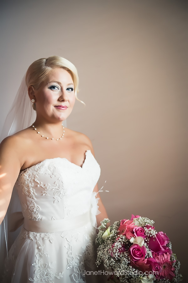 Bride portraits at Grace United Methodist in Atlanta