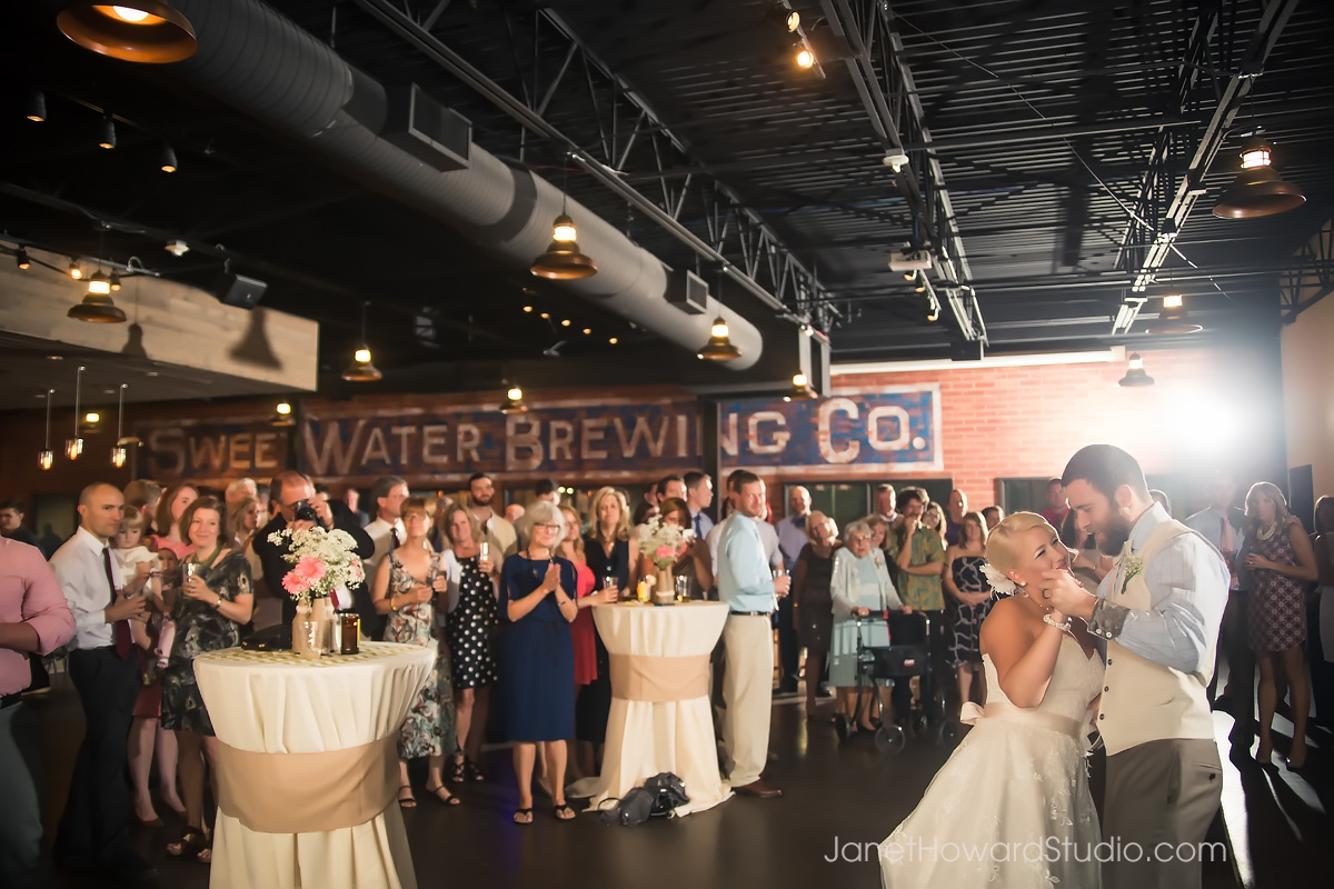 First dance at Sweetwater Brewery