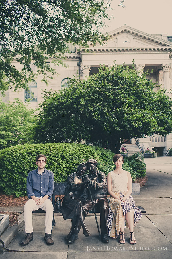 Decatur Engagement Portraits