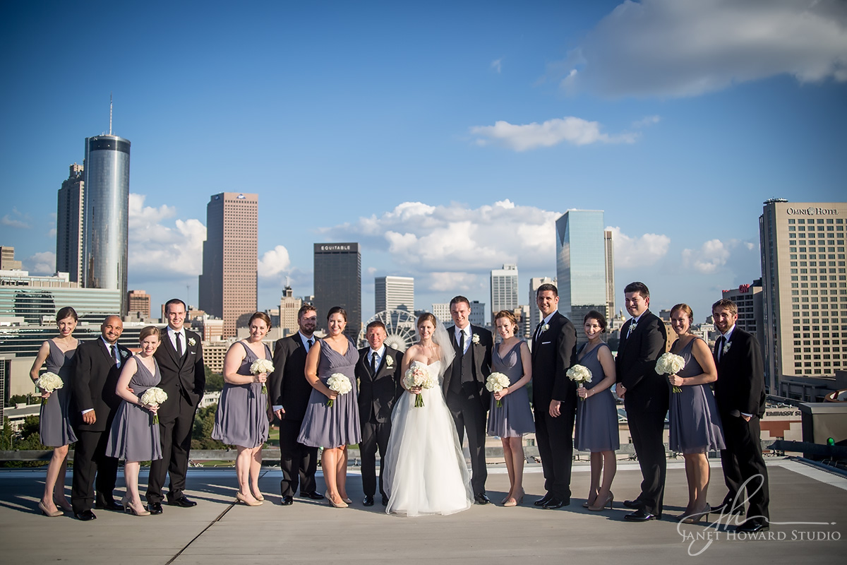 Wedding party at Ventanas helipad