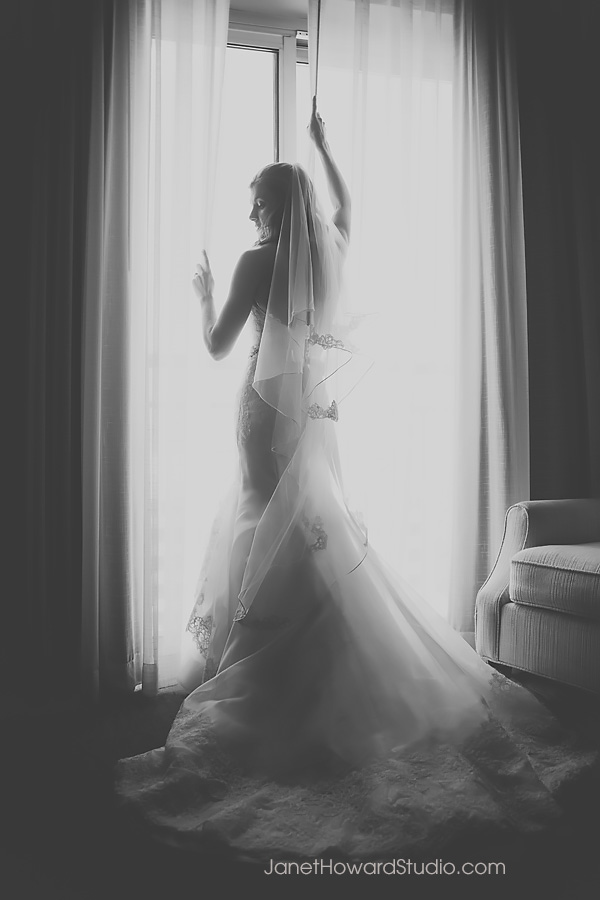 Bride at Georgian Terrace Hotel Atlanta
