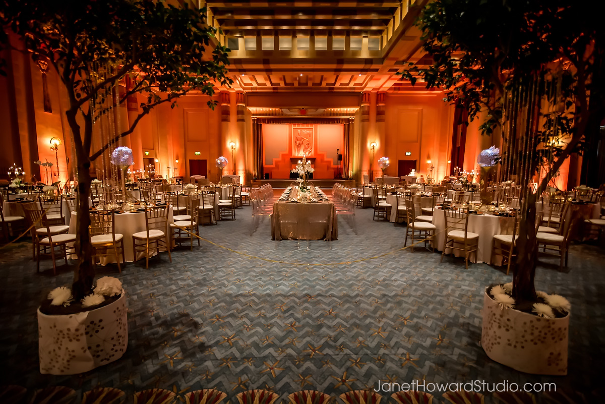 Fox Theater wedding reception