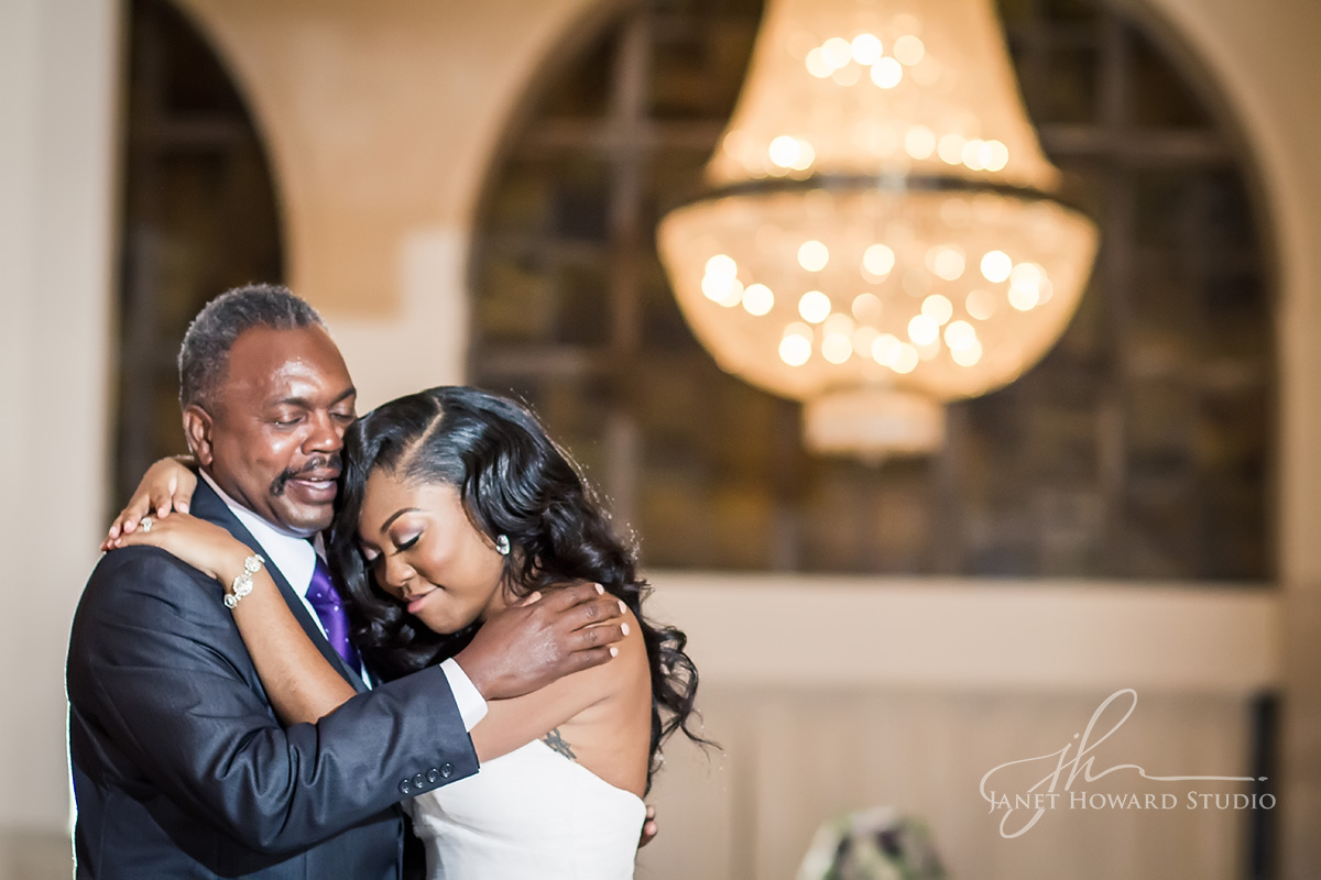 Father-daughter dance at 200 Peachtree